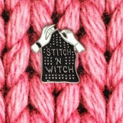 Stitch 'N Witch - przypinka