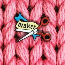 Maker - Przypinka