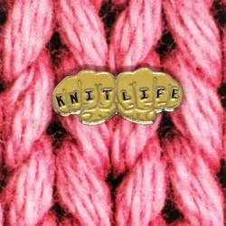 Knit Life - Przypinka