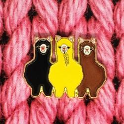 Alpaca Gang - Przypinka